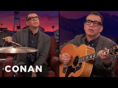 Fred Armisen Tells Jokes Only Musicians Will Understand  – CONAN on TBS