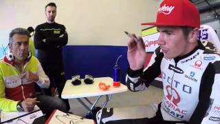 LIVE FROM JEREZ - Inside into a technical debrief of Scott Redding