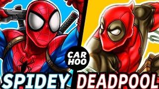 CARHOO Draws【 Spiderman & Deadpool 】