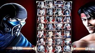Mortal Kombat-Fatality Sub - Zero
