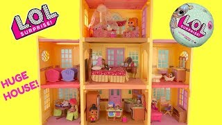 LOL Surprise Doll Mansion Really Big House Full of Surprises