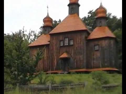 """Pyrohiv – """"Pirogovo outdoor Museum"""", near Kiev."""