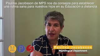 Paulina Jacobsson de MPS