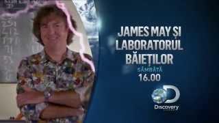 JAMES MAY ŞI LABORATORUL BĂIEŢILOR