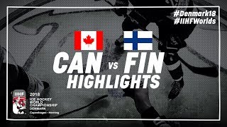 Game Highlights: Canada vs Finland May 12 2018   #IIHFWorlds 2018
