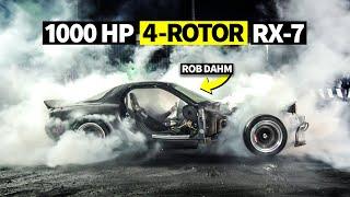 Wildest Burnyard EVER: Ken Block's Hoonicorn, 1000hp AWD RX-7 Burnout, and Mayhem