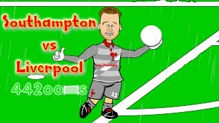 😇Southampton vs Liverpool 0-2🐓 No penalty? Koeman and WelshXavi debut! (Cartoon Highlights)