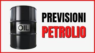 Previsioni sul prezzo del petrolio e dell'S&P500