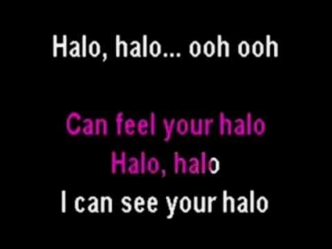 Beyonce - Halo (Piano instrumental with lyrics) Chords - Chordify
