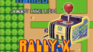 Namco Plug and Play- Rally-X Gameplay Video