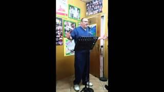 "Dr Stavros Eleftheriou practicing Agustin Lara's ""Granada"""