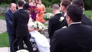 Bride in Wheelchair