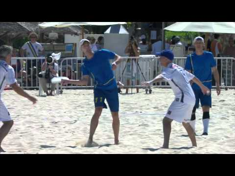 Video Thumbnail: 2015 World Championships of Beach Ultimate, Grandmasters Gold Medal Game: USA vs. Sweden