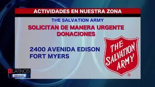 Salvation Army necesita de donaciones de alimentos