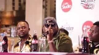 DJ MAPHORISA in The Coke Studio Africa | 2017