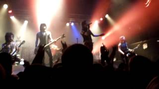 (Live) Black Veil Brides- Rebel Love Song (Reno,NV 3-5-13)