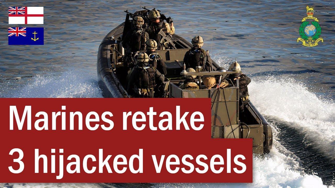 Royal Marines Retake 3 Hijacked Vessels | October 2011