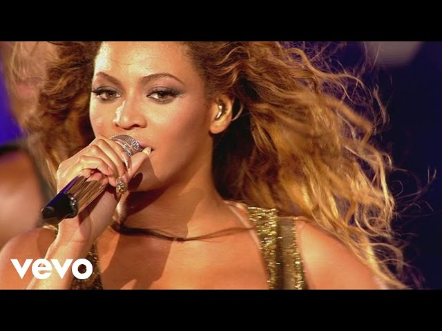"Video oficial de la canción ""Say My Name"" cantada por Beyoncé en concierto"