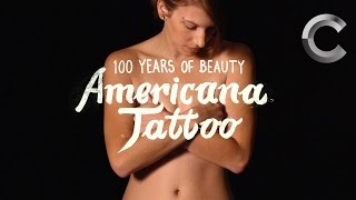 Americana Tattoo (Casey) | 100 Years of Beauty | Ep 14