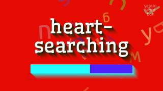 "How to say ""heart-searching""! (High Quality Voices)"
