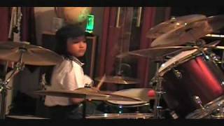Phil Collins - On My way (Drum Cover) by Ian^Rey (9 yrs old)