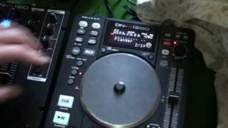 DJ TORIAL  DENON DN-S1200 using all effects  together