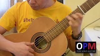 Hindi Ako Iiyak - The Flippers (solo guitar cover)