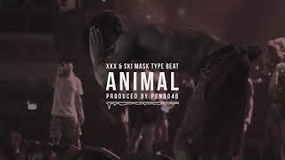(HARD) Xxxtentacion & Ski Mask The Slump God Type Beat ~ Animal | Trap instrumental | Prod. Pendo46