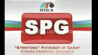 Rated SPG   MTRCB   YouTube
