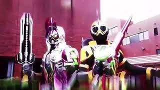 Kamen Rider Ex Aid Legend Rider Gashat Henshin And Finisher