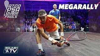 """""""They're both bent over double after that!"""" - Squash MegaRally - ElShorbagy v Farag"""
