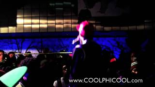 """Diggy Simmons Performs Live """" Super Hero Music"""" Sneaker Pimps NYC 2010 (Best Quality)"""