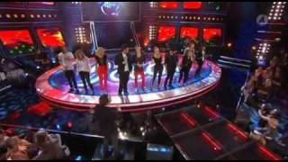 Idol 2009  - We are the world (lyrics in the video)