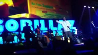 Gorillaz ft. De La Soul - Superfast Jellyfish (Live)