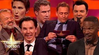 Celebrities Impersonating Other Celebrities - The Graham Norton Show