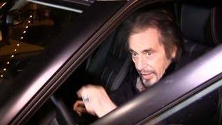 An Elderly Al Pacino Easily Intimidates The Paparazzi