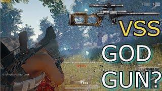 PUBG - VSS NEW GOD GUN?