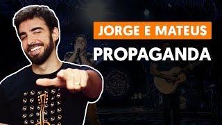 Videoaula Propaganda (aula de violão completa)
