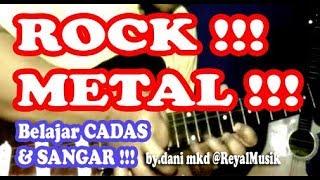 Belajar Melodi Gitar ROCK METAL TEKNIK SPEED Untuk PEMULA width=