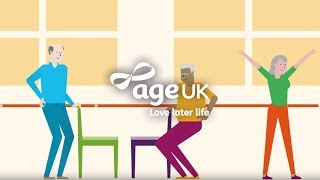 Staying fit and healthy | Age UK