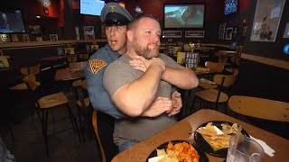 Off-Duty Trooper Saves Man Choking at Restaurant With Heimlich Maneuver