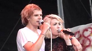 Grouplove Bitin The Bullet Live Firefly Music Festival Dover DE June 21 2014