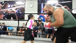 Treino de Muay Thai na Team Nogueira SP Zona Sul