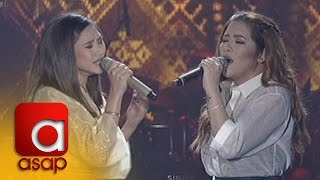 "ASAP: Sarah and Angeline sing ""Sino Ang Baliw"""