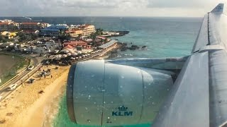 Flying KLM to St. Maarten - Surprise Trip to the Caribbean!