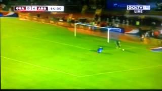 Cagada de Marco Pappa de guatemala vs argentina (0-4)  6/15/13