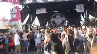 For Today - Foundation Live @ Toronto Warped Tour 2014 - Massive Circle Pit