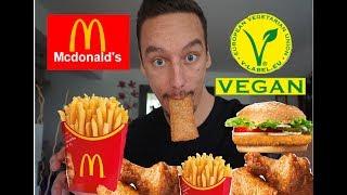 Vegan bei McDonalds - ALLE PRODUKTE getestet!