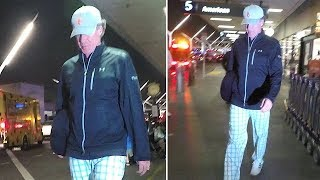 Will Ferrell Walks Tall At LAX Following Scary Car Accident