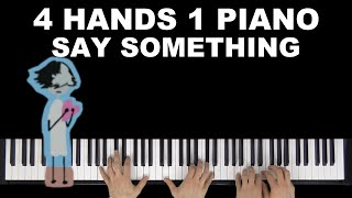 A Great Big World, Christina Aguilera - Say Something (Cover by Many Hands Play Piano)